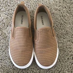 Boys Brown Suede Shoes